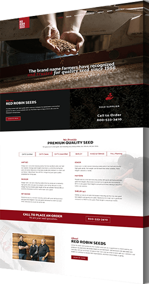 Farming Web Design and Development